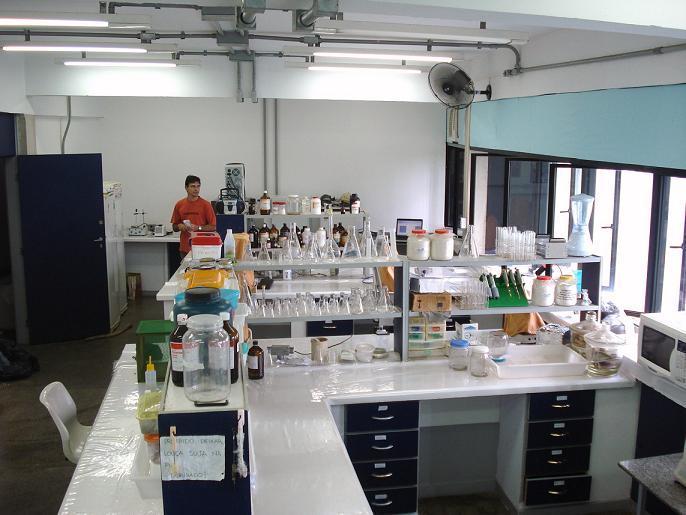Vista geral do laboratório