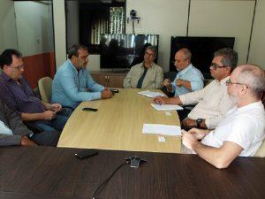 Reunião na UENF encaminha convênio entre a Universidade e o CIDENNF