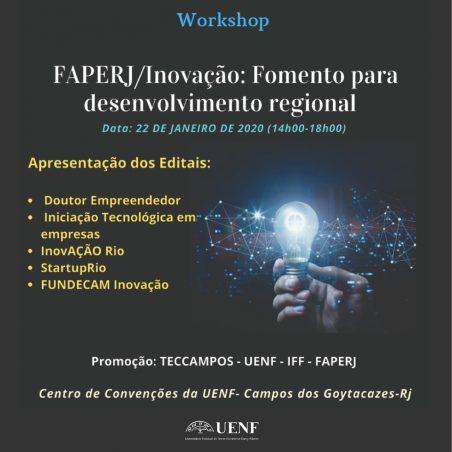 A UENF recebe o Programa Startup Rio 2020